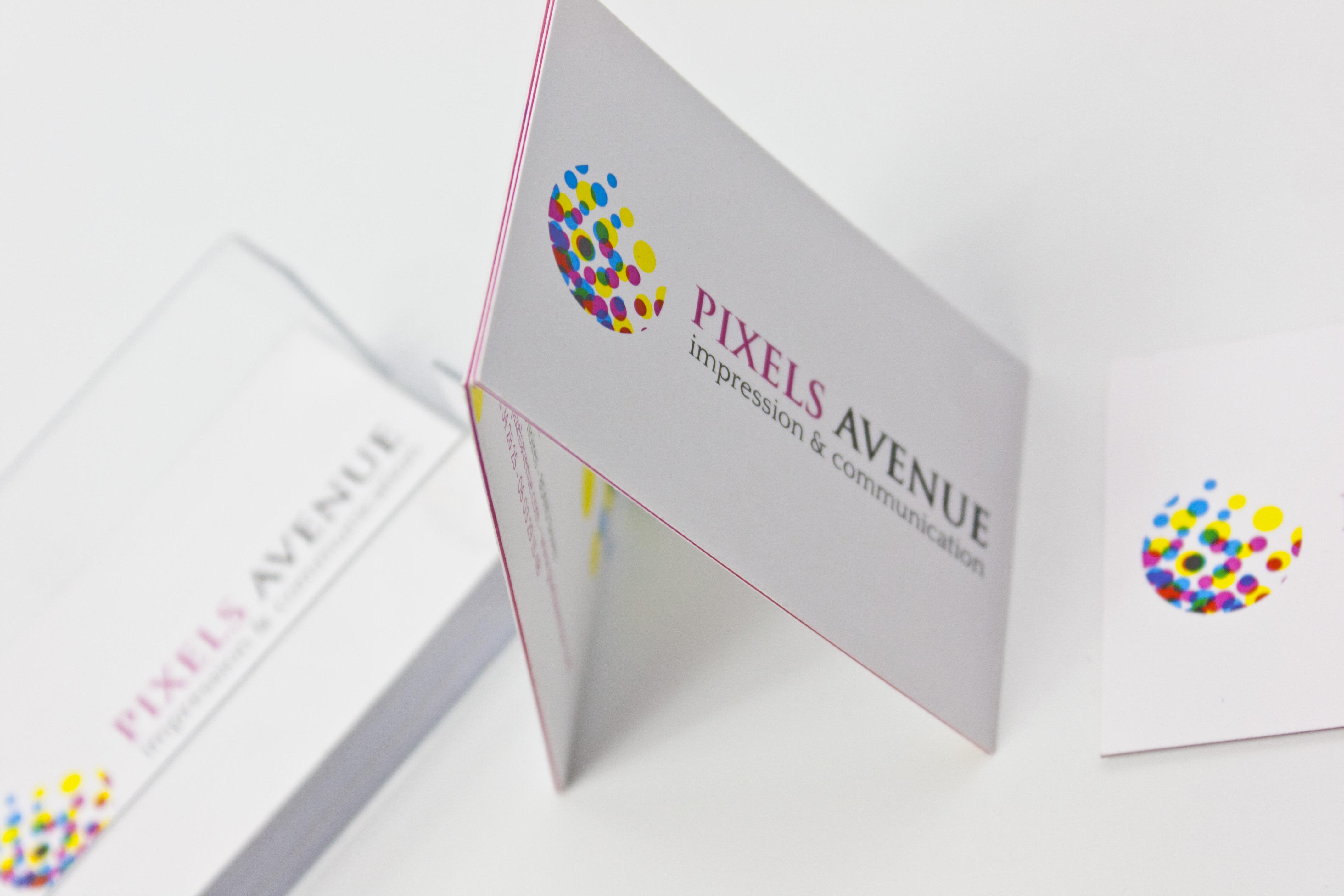 Pixels Avenue Lance Une Nouvelle Gamme De Cartes Visite Luxe