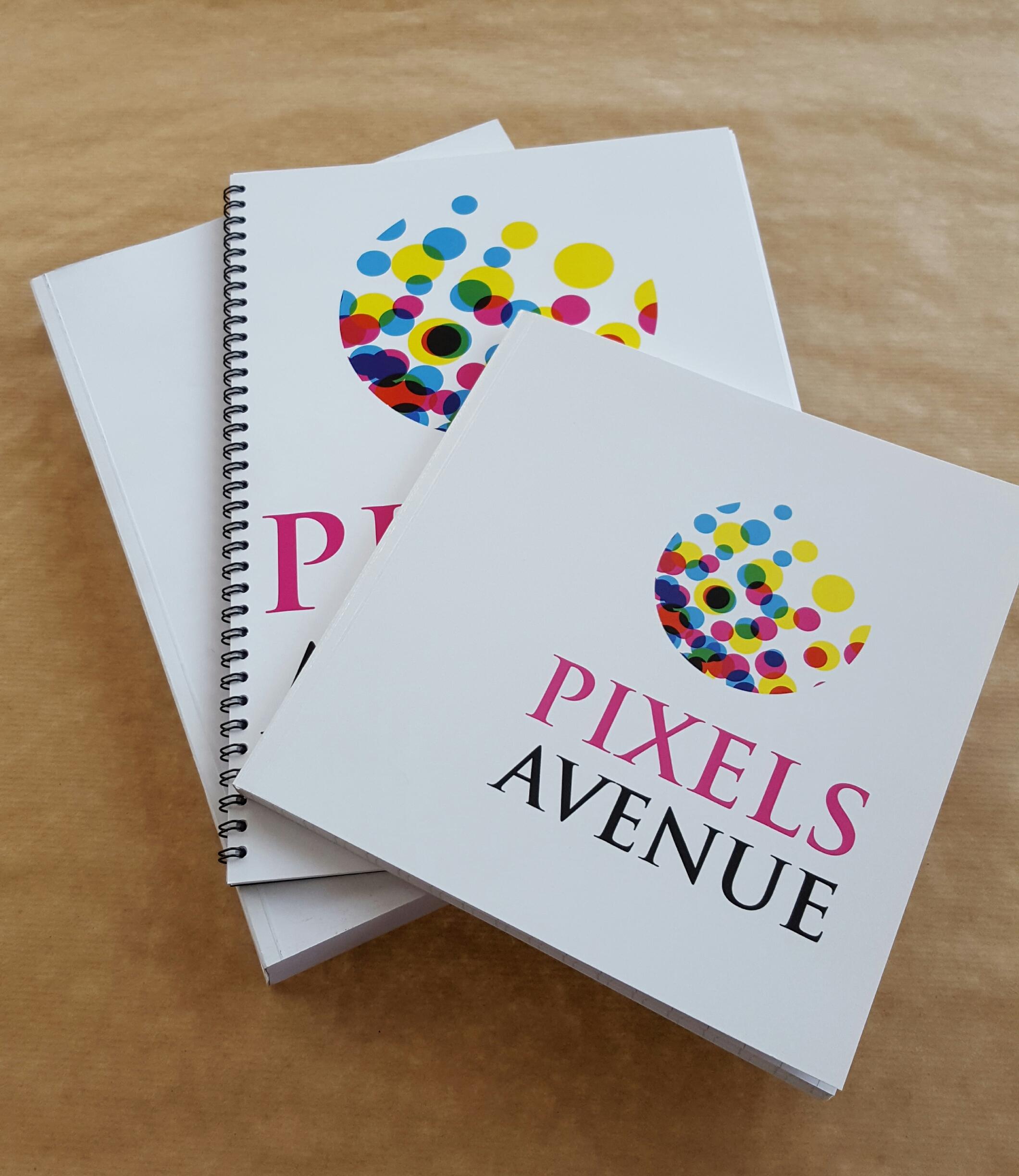 Brochage Et Reliure En Interne Chez Pixels Avenue